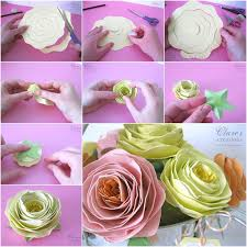 Easy Paper Flower Wonderful Diy Easy Rolled Spiral Paper Flower