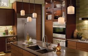 Image Of: Attractive Island Light Fixtures Kitchen