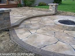 concrete patio designs with fire pit. Wonderful Pit Concrete Patio With Fire Pit On Best Of Stamped    In Concrete Patio Designs With Fire Pit