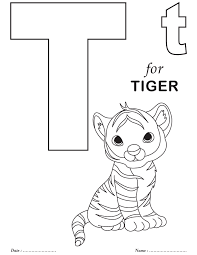 Small Picture Printables Alphabet T Coloring Sheets Download Free Printables