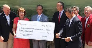 Golf Tournament Donates Unit for St Vincents Mobile Health Outreach  Ministry | Ascension
