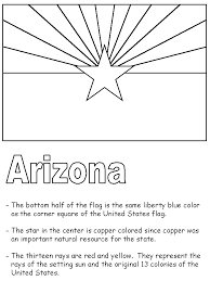 Small Picture State Flag Facts Coloring Sheet for State of the Week