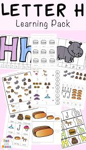 See more ideas about jolly phonics, phonics, phonics worksheets. Letter H Worksheets Activities Fun With Mama