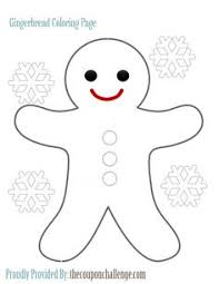 Small Picture Cute gingerbread man coloring pages printable Enjoy Coloring