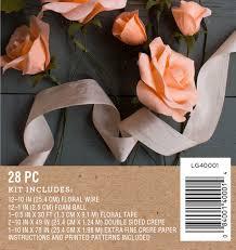 Crepe Paper Flower Balls Crepe Paper Rose Flower Kit Shop Lia Griffith