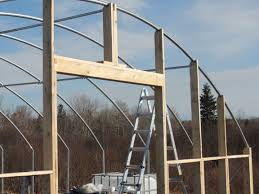 Hoop House End Wall Design Building Greenhouse End Wall Greenhouse Construction