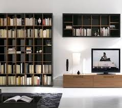 contemporary library furniture. Modern Wall Bookshelf Attractive Private Library Furniture Type Design And For 19 Contemporary M