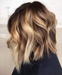 Medium Hair Color Ideas Shoulder Length Hairstyle For Female In