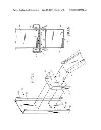 Bracing beams for sheet metal framing walls diagram schematic