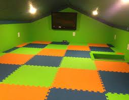 rubberflooringinc customer kids new playroom