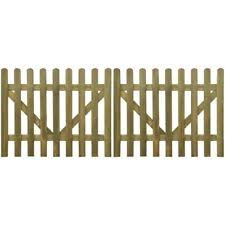 wood picket fence gate. 2 Pcs Wooden Picket Fence Gate Impregnated Pinewood Garden Farm Field 4 Sizes Wood D