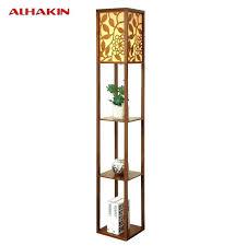 Corner Floor Lamp With Shelves Beauteous Walmart Floor Lamps With Shelves Floor Lamp With Shelves Corner Lamp