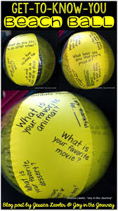 best ideas about schools high school school fun and easy activity for back to school use a beach ball to