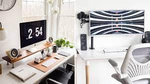 20 Best Minimalist Desk Setups Home Office Ideas Gridfiti