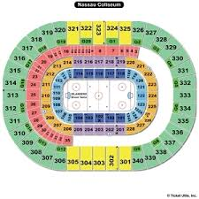 Nassau Coliseum Seating Chart Hockey 58 Precise Nycb Nassau Coliseum Seating Chart