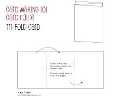folding card template tri fold card template fold card template the infinity a folded