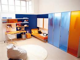 Playful Orange Bedroom