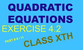 quadratic equation class 10 ex 4 2 question no 4 part 9 11 hindi english