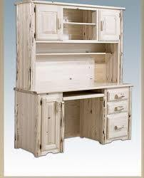 shabby chic desk with hutch chic office desk hutch
