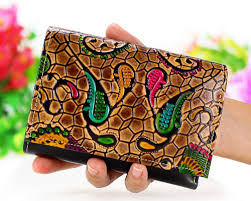 bridesmaid gift embossed leather wallet womens wallet gifts for women b