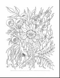 Tropical Flower Coloring Pages Csengerilawcom