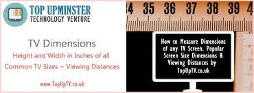Tv Dimensions Chart Tv Dimensions Chart Tvs Screen Size Big Screen Tv