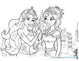 Colouring Sheets Mermaids Pages Printable Little Mermaid Coloring