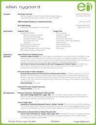 interior design resume interior designer resume objective