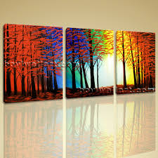 Wall Art Designs, Abstract Wall Art Large Abstract Landscape Painting Print  On Canvas Original Wall