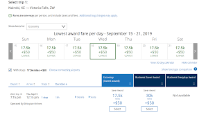Lufthansa Miles And More Award Chart Redeeming United