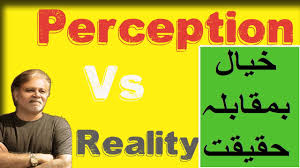 perception vs reality perception vs reality