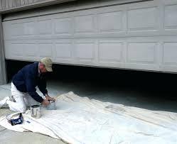 can you paint a garage door paint garage door like wood