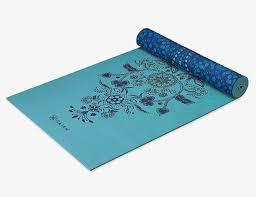 best beginner mat gaiam yoga mat premium print reversible extra thick mat