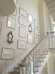 alluring ideas for staircase walls 20 stairway gallery wall ideas home design and interior