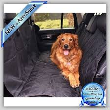 luxury pet car seat cover waterproof hammock for dog cat van suv back rear bench