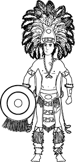 Small Picture Aztec Free Illustrations Coloring Page Wecoloringpage