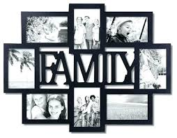 hanging collage frames family collage photo frame family photo frame tree with collage frames design 8