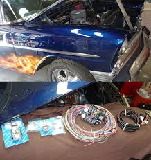 electrical 1959 chevy belair stationwagon electrical replacement painless wiring