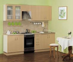 small kitchen furniture. Small Kitchen Design - Wooden Cabinets With Integrated Appliances Furniture S