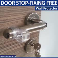 image is loading fixing free wall protectors door handle per guard