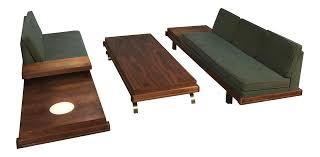 Coffee Table Set Of 3 Martin Borenstein Sofa Pair Coffee Table Set Set Of 3 Chairish