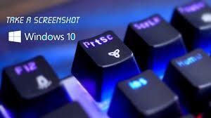 Screenshot On Pc Windows 10 How To Screenshot On Windows 10 Laptop Pc Mac Dell