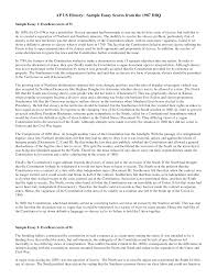 sample history essay conclusion