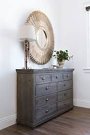 Our Sinclair dresser's solid pine design looks fresher than ever. While bin  pulls enhance its