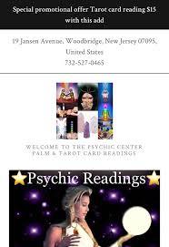 psychic center reader advisor 15 photos psychics 19 jansen ave woodbridge nj phone number yelp