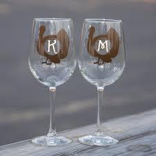 glasses table setting. Thanksgiving Wine Glasses. Table Setting Glasses