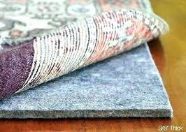 perfect felt rug pad from amazing ping savings extra thick 8x10 2