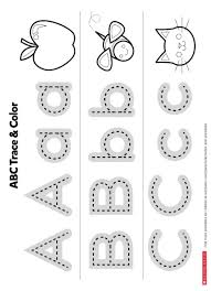 the abcs printable worksheets