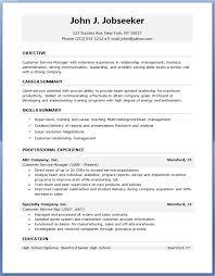 Microsoft Word Resume Template Free Custom Free Cv Templates It