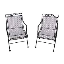 black wrought iron outdoor furniture. Wrought Iron Patio Furniture, Outdoor Rocking Chairs Black Furniture A